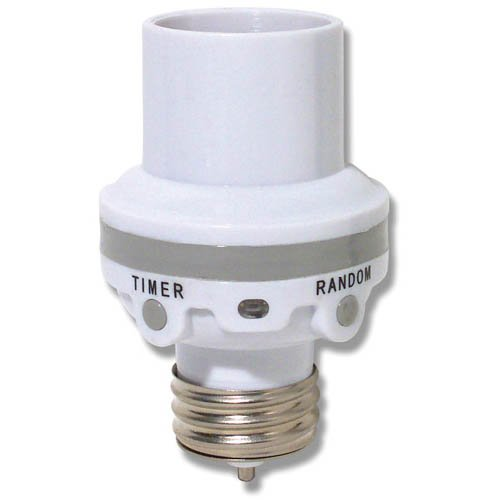 Westek SLC6CBC-4 100W Programmable Screw-In Light Control - Motion Sensor Light Socket