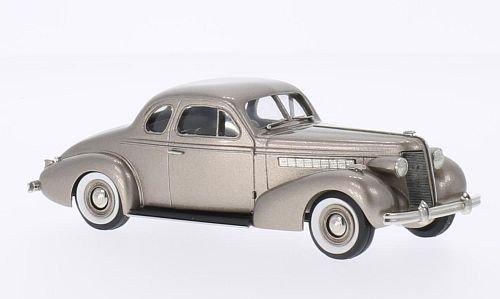 Buick Special 2-Door Coupe M-46, metallic-beige, 1937, Model Car, Ready-made, Brooklin 1:43 (Buick 2 Door Special)