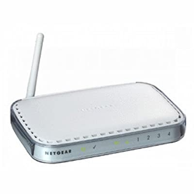 Netgear WGR614NA 54Mbps Wireless Router with 4-Port 10/100 Mbps Switch