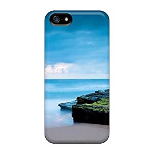 New Arrival Case Cover With Design For Iphone 5/5s- Summer Nature Widescreen