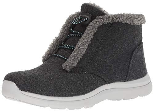 (Ryka Women's Everest Ankle Boot, Black, 6 W US)