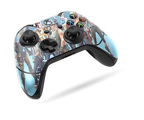 Xbox One Wireless Controller Pro Console Newest Xbox Controller Blue Tooth With Soft Grip Exclusive Customized Version Skin Fortnite Blue 1
