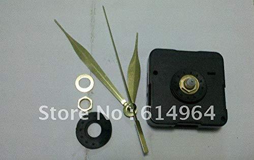 Maslin Quartz Clock Movement for Wall Clock, Clock Mechanism,Clock Parts with Three Gold Hands,100sets/lot