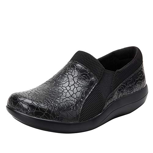 Alegria Duette Womens Professional Shoe Flourish Black 8 M US