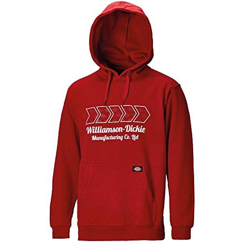 "Dickies Kapuzen-Sweatshirt ""Arkley"", Größe M, rot, 1 Stück, SH11600 RD M"