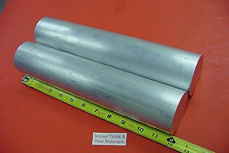 "4 Pieces 1-1//2"" X 12/"" Aluminum Round Rod Solid 6061-T6 1.5"" Bar Stock"