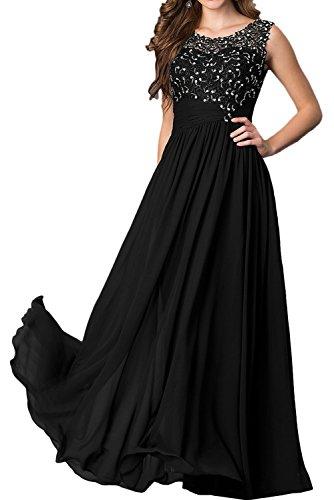 negro Vestido para mujer trapecio Topkleider gTnWxBnP