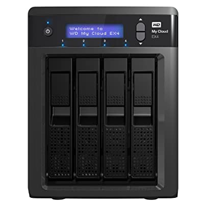 WD My Cloud EX4 8TB: High-Performance NAS, Ultimate Reliability, Personal Cloud Storage