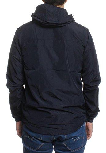 Hombre Superdry cremallera doble Azul Nueva de Cagoule chaqueta Azul gBrxB4qd