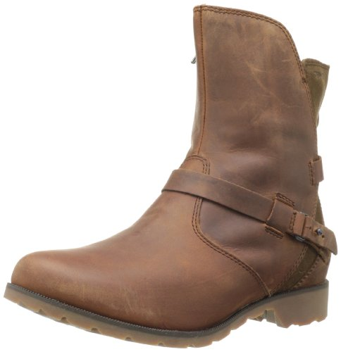 Teva De La Vina Low - Botas de cuero mujer marrón - Marron (Bison/Bis)