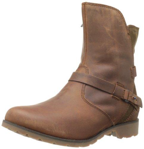 Teva Women's De La Vina Leather Low Boot Bison