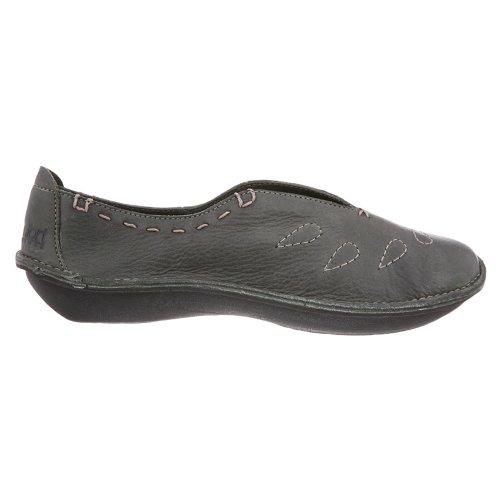 Vrouwen Klogs Zenkomfort Wasabi Lederen Schoenen Olijf Graniet