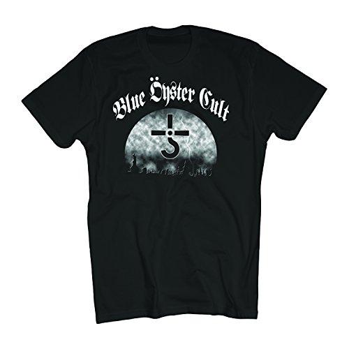 Merch Direct Blue Oyster Cult - Graveyard - T-Shirt - Bla - MD