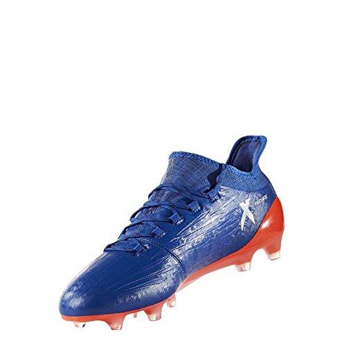adidas X 16.1FG–Scarpe da calcio per uomo, verde–(versol/negbas/verbas) Arancione