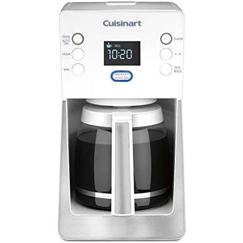 Cuisinart Perfec Temp 14-Cup Programmable Coffeemaker, White (Certified Refurbished) (White Cuisinart Coffee Maker compare prices)