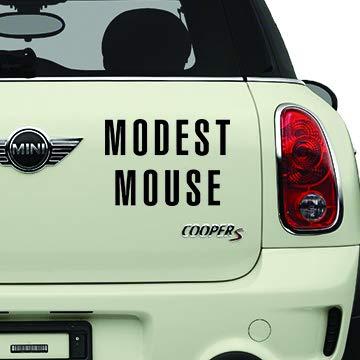 Modest Mouse Black Bands Automotive Decal/Bumper Sticker