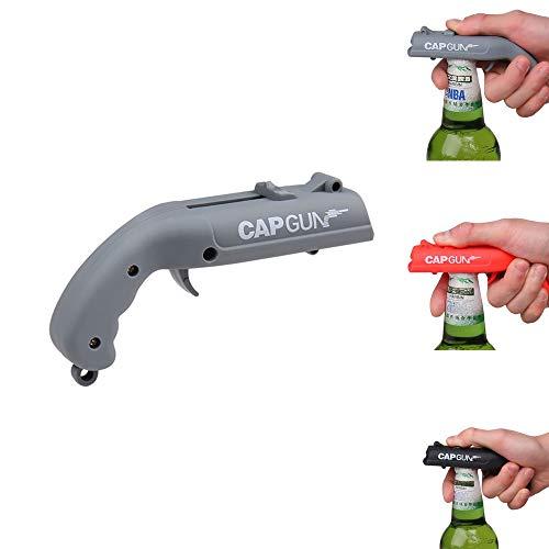 doulewa Abridor de botellas de cerveza profesional lanzador de tapas de plástico creativo, abridor de botellas de bebida…