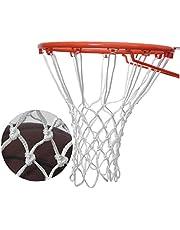 Basketbalnet met 12 lussen Waterdichte Anti Whip Basketball Hoepel Netto Vervanging 2 stks Wit Rood