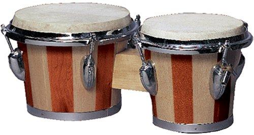 Performance Plus 439-TT Tunable Two Tone Wood Bongos by Performance Plus