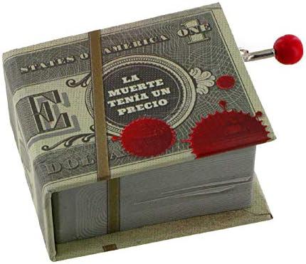 Caja de música con manivela en forma de libro (Ref: 1625) – Y por ...