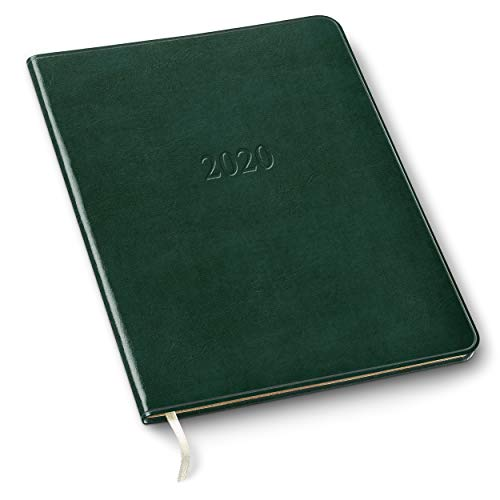 2020 Gallery Leather Professional Weekly Planner Acadia Green 9