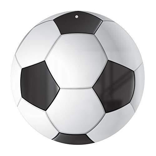 Anvevo Metal Soccer Ball Dry Erase Board Decorative Sign Door Hanger Soccer Decor Soccer Whiteboard