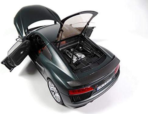 OPO 10 - 1/18 KYOSHO Auto Compatibile con Audi Sport R8 V10 Plus Coupé - 1:18 Green Camouflage (036008)