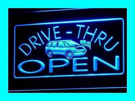 ADV PRO I088 B OPEN Drive Thru Car Displays Bar Pub Light Signs