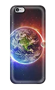 AnnaSanders Iphone 6 Plus Well-designed Hard Case Cover Planet Sci Fi People Sci Fi Protector