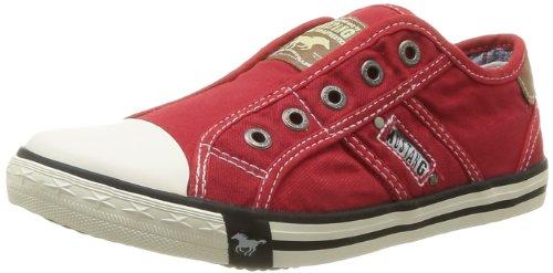 Mustang Women flat Slipper red, (rot-kombi) 1099-401-5 Shoes B00AAB03BK Shoes 1099-401-5 51f8da