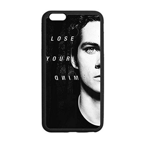 "Inspired Teen Wolf Dylan O'brien Designed Custom Design Rubber Tpu iPhone 6 6s plus Case Back Cover for iphone 6 5.5""inch plus"