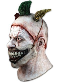 Trick or Treat Studios Mens Twisty The Clown Deluxe Mask, Multi, One-Size by Trick Or Treat Studios (Image #1)