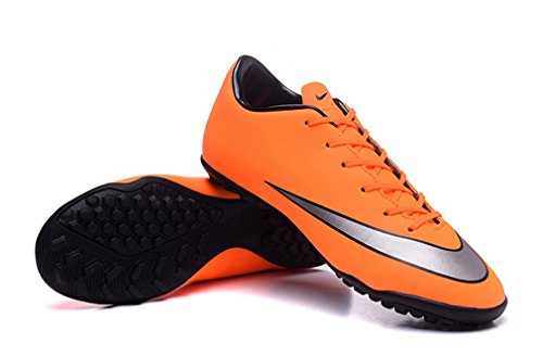 Herren Mercurial Victory V TF orange Low Fußball Schuhe Fußball Stiefel
