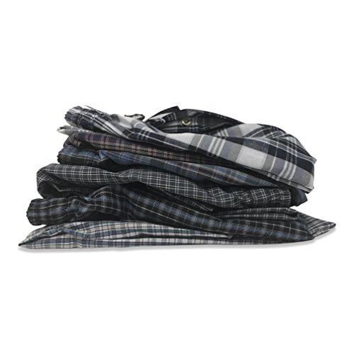 Best Brand Basics Basics Men's 6 Pack Woven Drawstring Thin - Lightweight Sleep & Lounge Pants