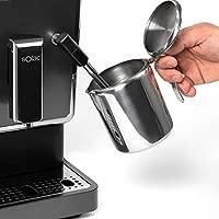 Solac-CA4810 Automatic Coffeemaker. Cafetera Súper Automática,19 bar, 1470W. Diseño compacto 18cm. Café en 40s. Capuccinador. Opción Autolavado. Café ...