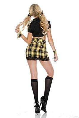 Music Legs Women's Seductive School Girl