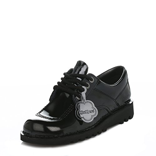Kickers Kick Lo Core Womens Shoes Black (Womens Kickers)