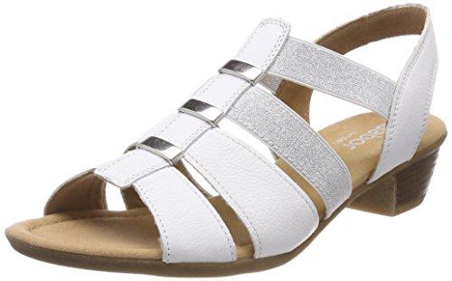 Sandali Con Il Cinturino Gabor Signore Comodità Sport Bianco (bianco)