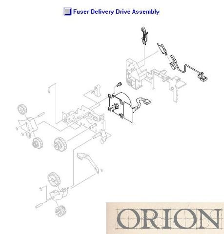 000cn Hp Delivery Assembly - 9