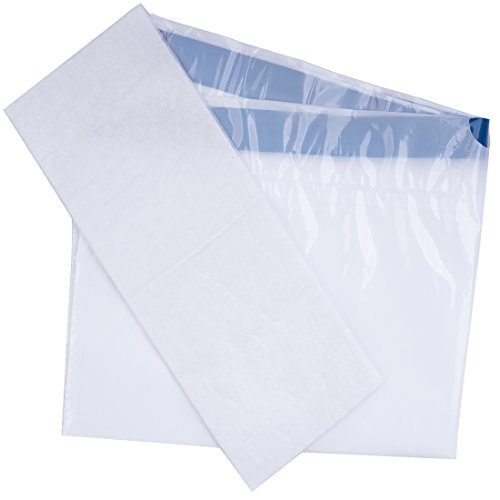 Medokare Commode Liners Pail Bags - with Super Absorbent Pad, 24 Medical Grade Disposable Potty Liners, Bedside Commode Liners, Sanitary Bags for Adult Commode Chair Bucket Or Bedside Toilet Liners by Medokare (Image #3)