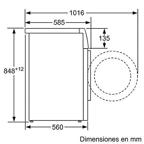 Bosch WAQ20368ES - Lavadora De Carga Frontal Waq20368Es De 8 Kg Y ...