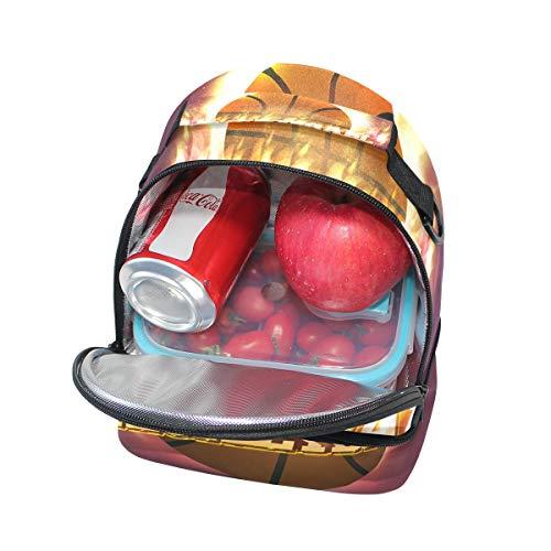 para FOLPPLY hombro con correa almuerzo el Bolsa pincnic el escuela ajustable para la térmica para de rn8qapHr