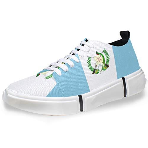 super3Dprinted Guatemala Flag Men's Fashion Sneaker Casual Shoes