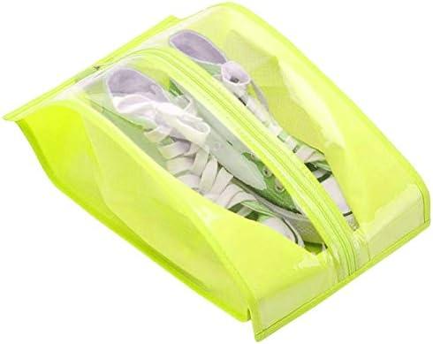 [ユリカー] シューズケース シューズバッグ 収納袋 靴入れ 耐久 衣類 化粧品 小物 洗面道具 多機能 防水 防塵 トラベル用 出張 家用 軽量で持ち運び便利 2点セット 大容量