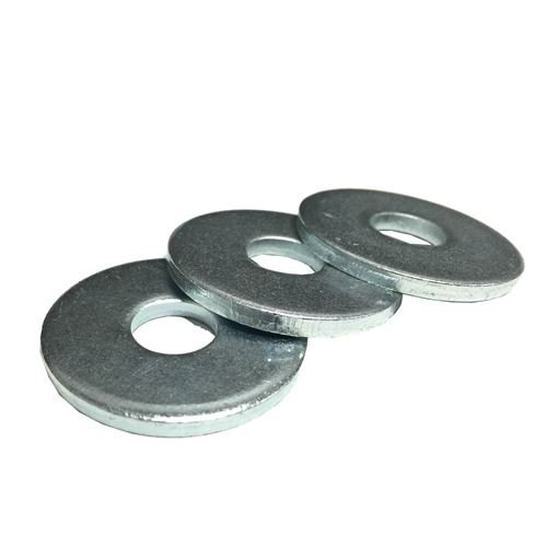(1100) 3/8X1-1/4 Extra Thick 1/8'' Fender Washers Zinc Clear by BoltsandNuts (Image #1)
