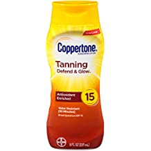 Coppertone Tanning Lotion SPF 15,8 oz