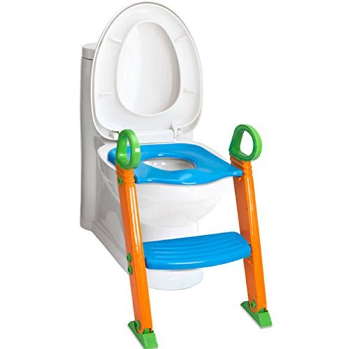 Step Ladder Training - Toddler Toilet chair Kids Potty Training Seat With Step Stool Ladder