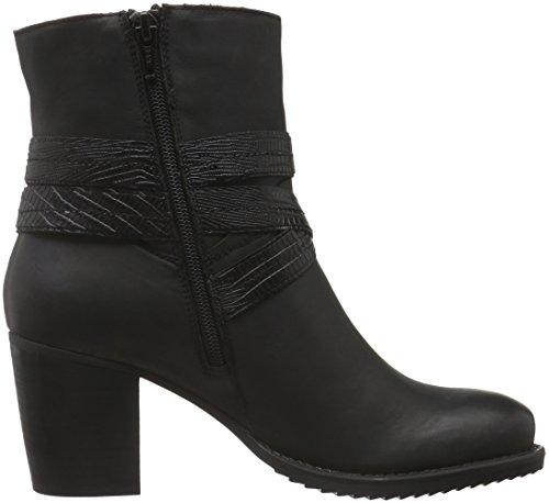 SPM Bullet Ankle Boot, Zapatillas de Estar por Casa para Mujer, Negro, 40 EU