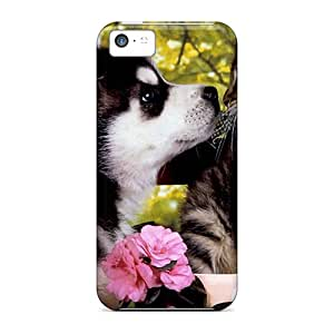 Forever Collectibles Huskie Puppy A Kitten Hard Snap-on Iphone 5c Case
