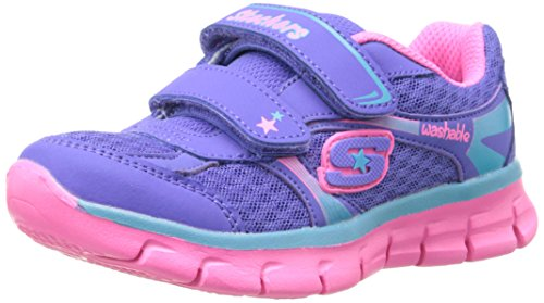 Skechers Synergy Lil Softy - Zapatillas para niña Violeta